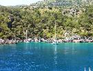 Gulet cruise along the Lycian coast