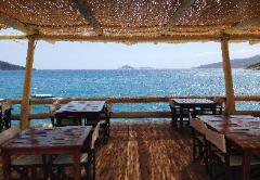 View from Harbour Cafe in Kalkan